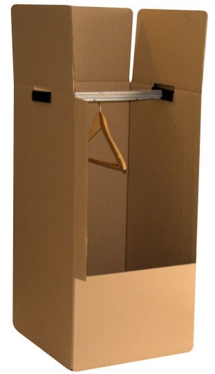 carton penderie grand format costume 50cm x 50cm x 135cm a d m nage. Black Bedroom Furniture Sets. Home Design Ideas
